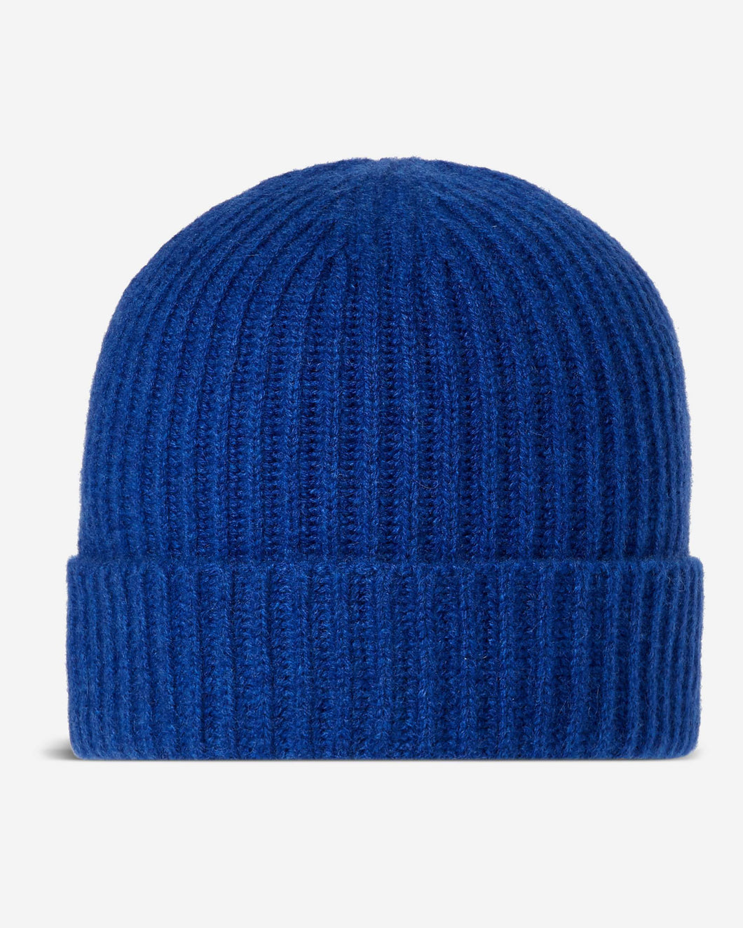 Ribbed Cashmere Hat Midnight Blue