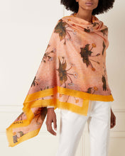 Load image into Gallery viewer, Blush Floral Print Cashmere Pashmina Blush Pink