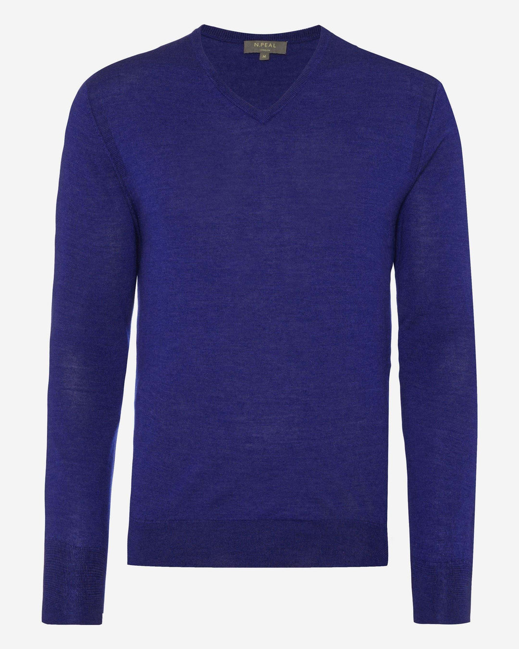 The Conduit FG V Neck Jumper Royal Blue