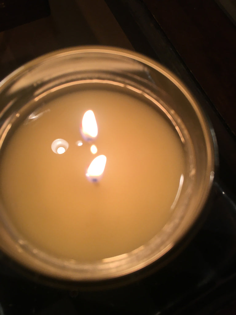 The correct way to burn a candle