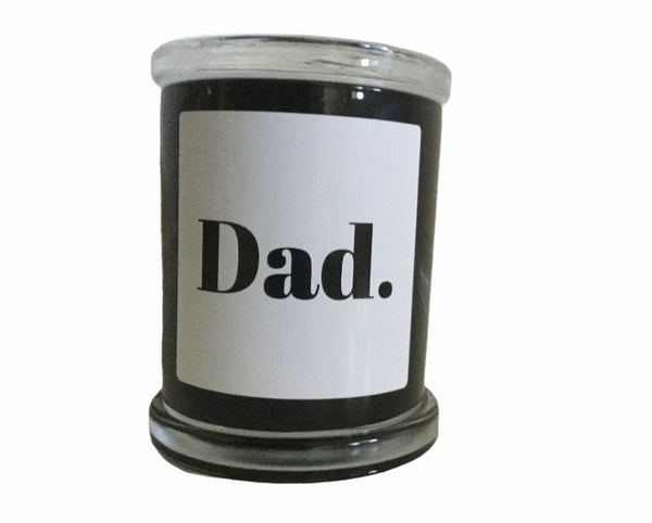 Dad Candle Fragrance Man Candle - Hikari Candles