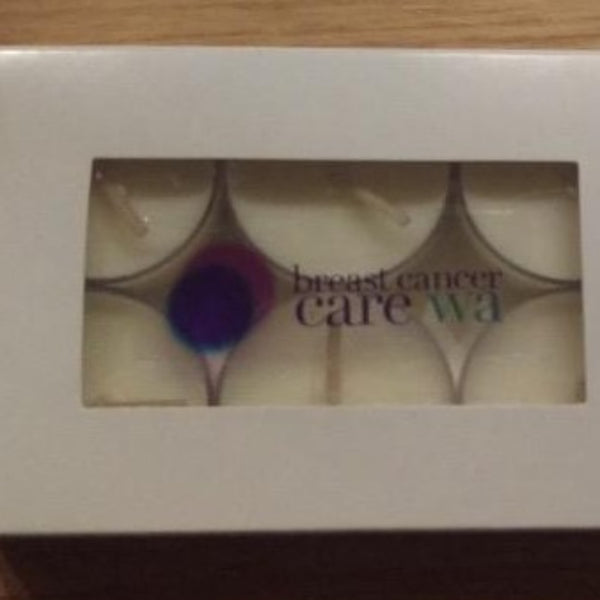 Breast Cancer Care Tea Lights - Fundraising - Hikari Candles