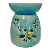 Melter Oil Burner Large Teal Accessories - Hikari Candles