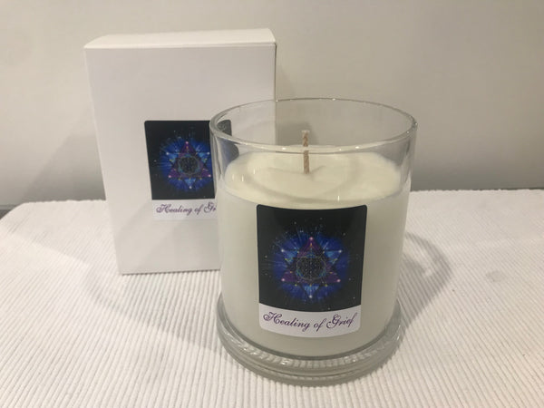 Grief Candle - In times of Grief - Healing of Grief with Pure Essential Oils - - Manifestation - Hikari Candles