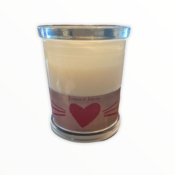 Aromatherapy Personalised Candle