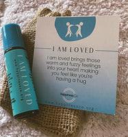 Kids Roll on Pure Essential Oil blend I am loved - Hikari Candles
