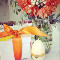 Easter Candle Egg Shaped Aromatherapy - Hikari Candles