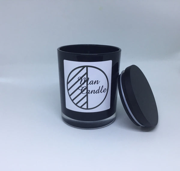Man Candle - Fragrance Masculine Soy Triple Scented - Hikari Candles