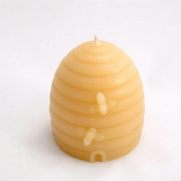 Bees Wax Candle  Bee Hive Small Boxed - Hikari Candles