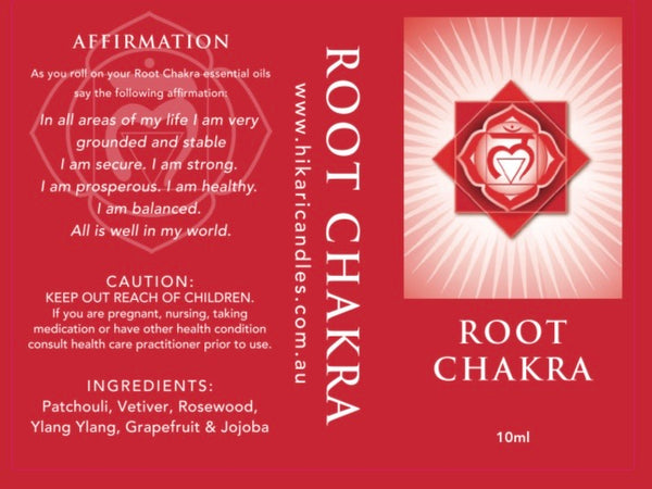 Root Chakra - Information Sheet - Knowledge