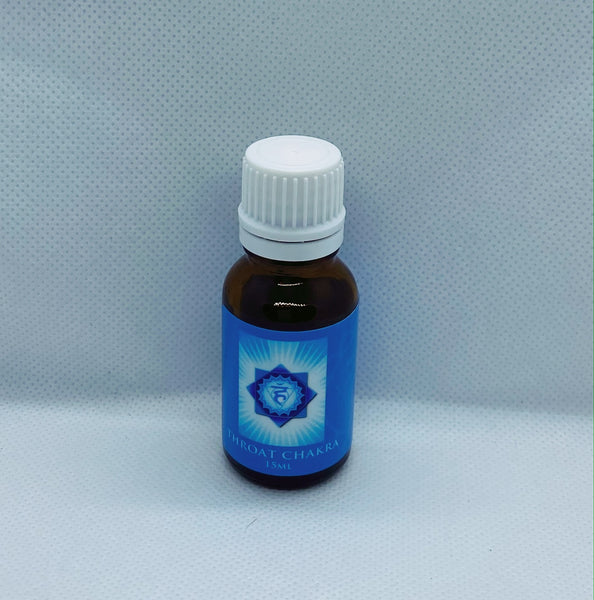Throat Chakra Pure Essential Oil Blend 15ml - Hikari Candles