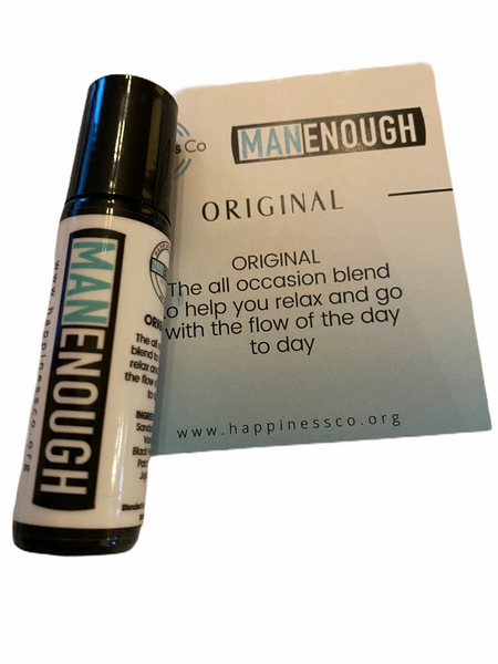 Man Enough Happiness Co Essential Oil Mens Range - Hikari Candles