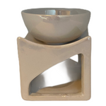 Oil Burner - Melter Pearl White - Accessories - Hikari Candles