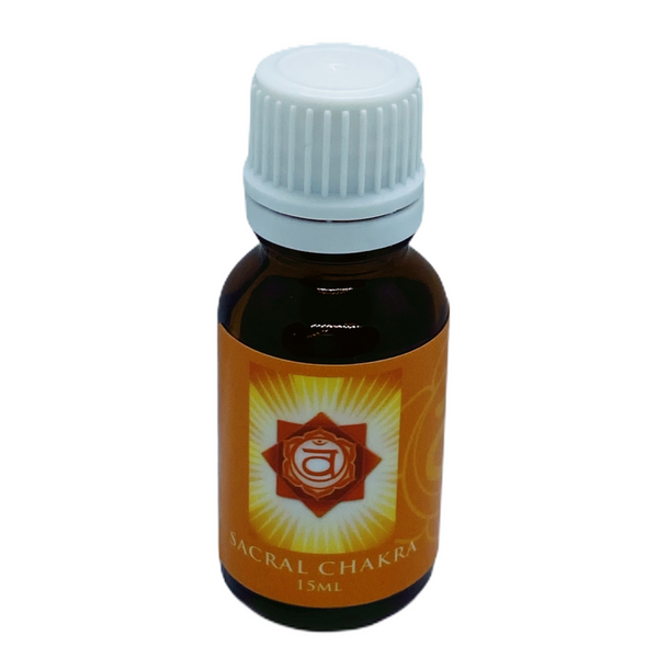 Sacral Chakra Pure Essential Oil - Hikari Candles