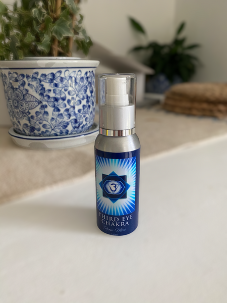Third Eye Chakra Room Mist Spray - Hikari Candles