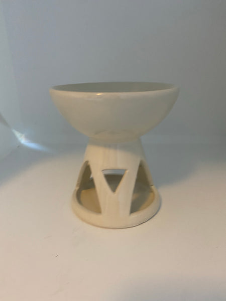 Oil Burner Melter - Large Bowl - White - Accessories - Hikari Candles
