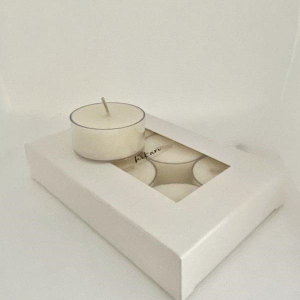 Soy Tea Lights Ambered Sandalwood