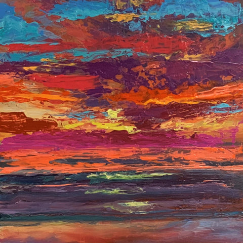 Big Sky-Little Painting 312