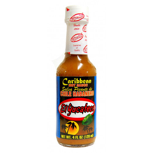 Hot Sauce - El Yucateco - Caribbean