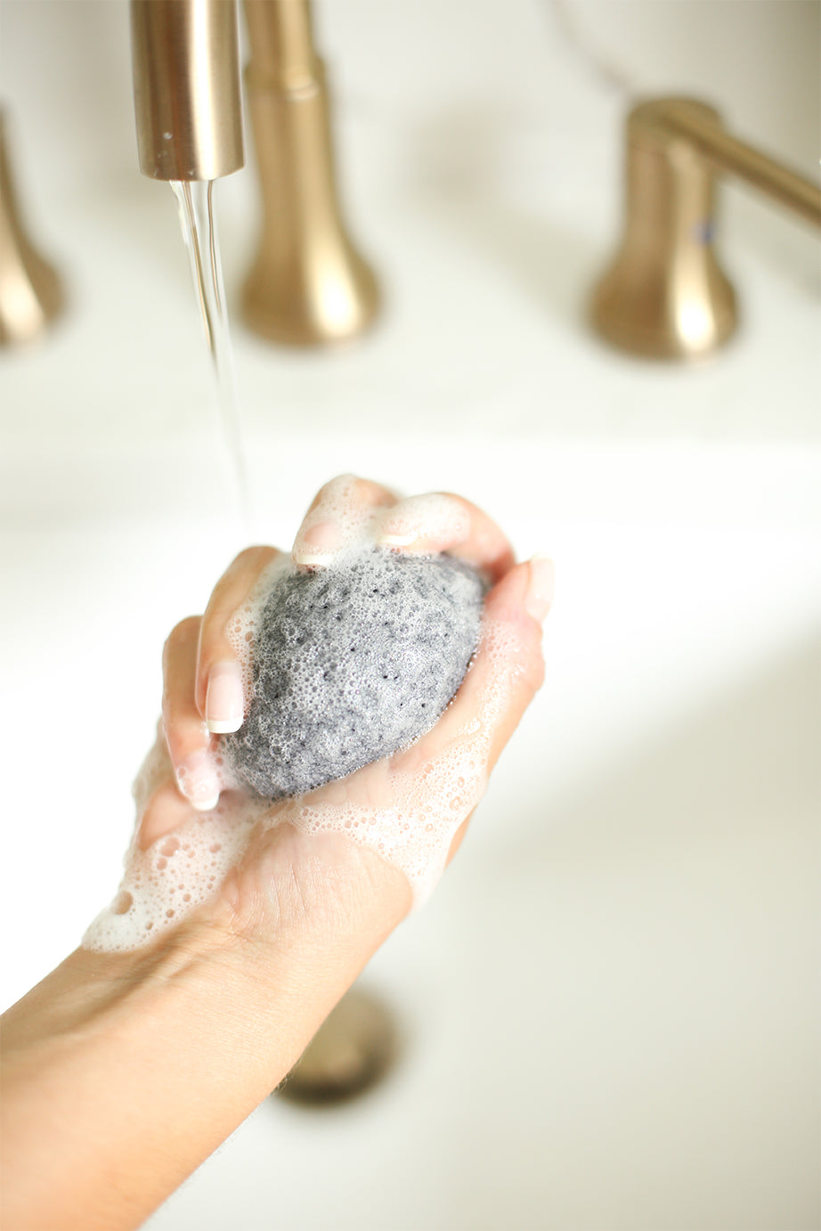 Charcoal and Bamboo Konjac Sponge
