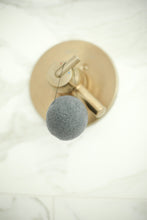 Load image into Gallery viewer, Charcoal and Bamboo Konjac Sponge