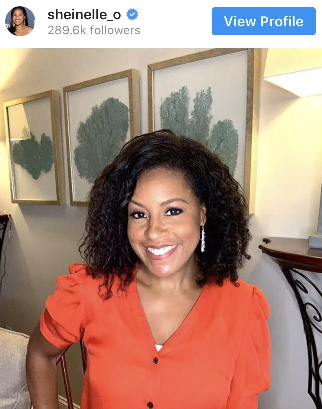 Today Show Host Sheinelle Jones Goes Natural On-Air