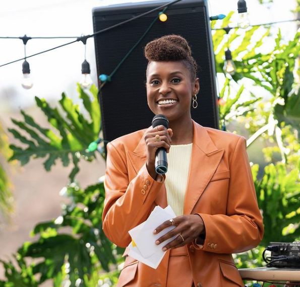 Issa Rae Keeps It (Hair) Real