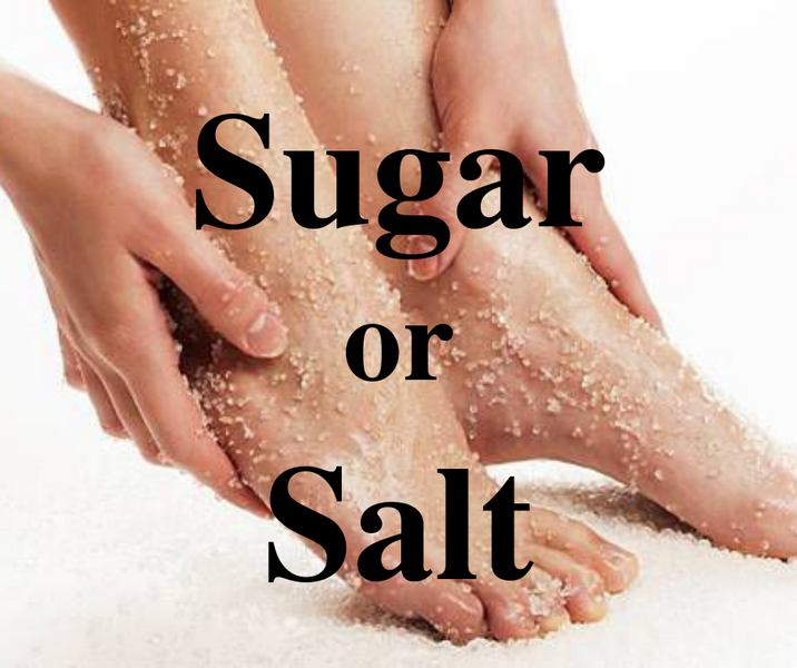 Which and When Sugar or Salt Scrubs?
