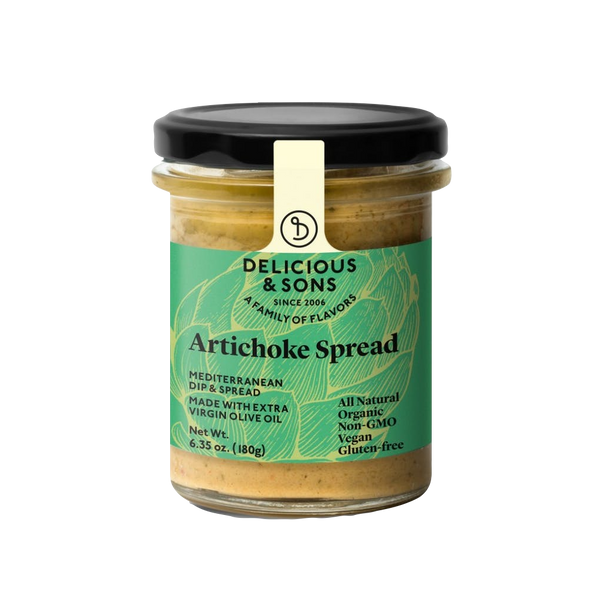Delicious and Sons - Tartinade Artichaud 🌳