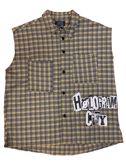 RAW PUNK SHIRT-YELLOW
