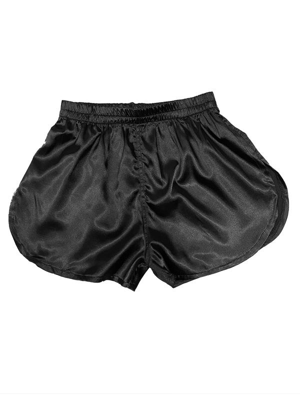 SILK BOOM SHORT-BLACK