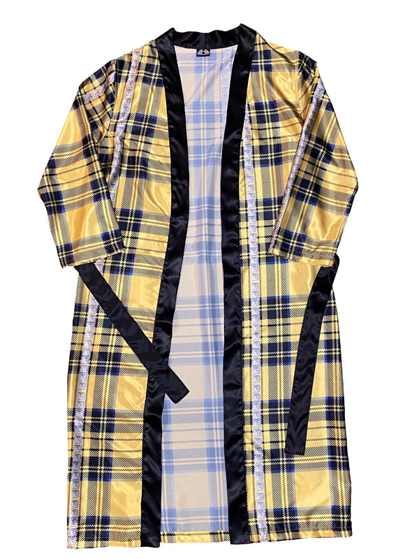 PUNK ROCK ROBE SET-YELLOW