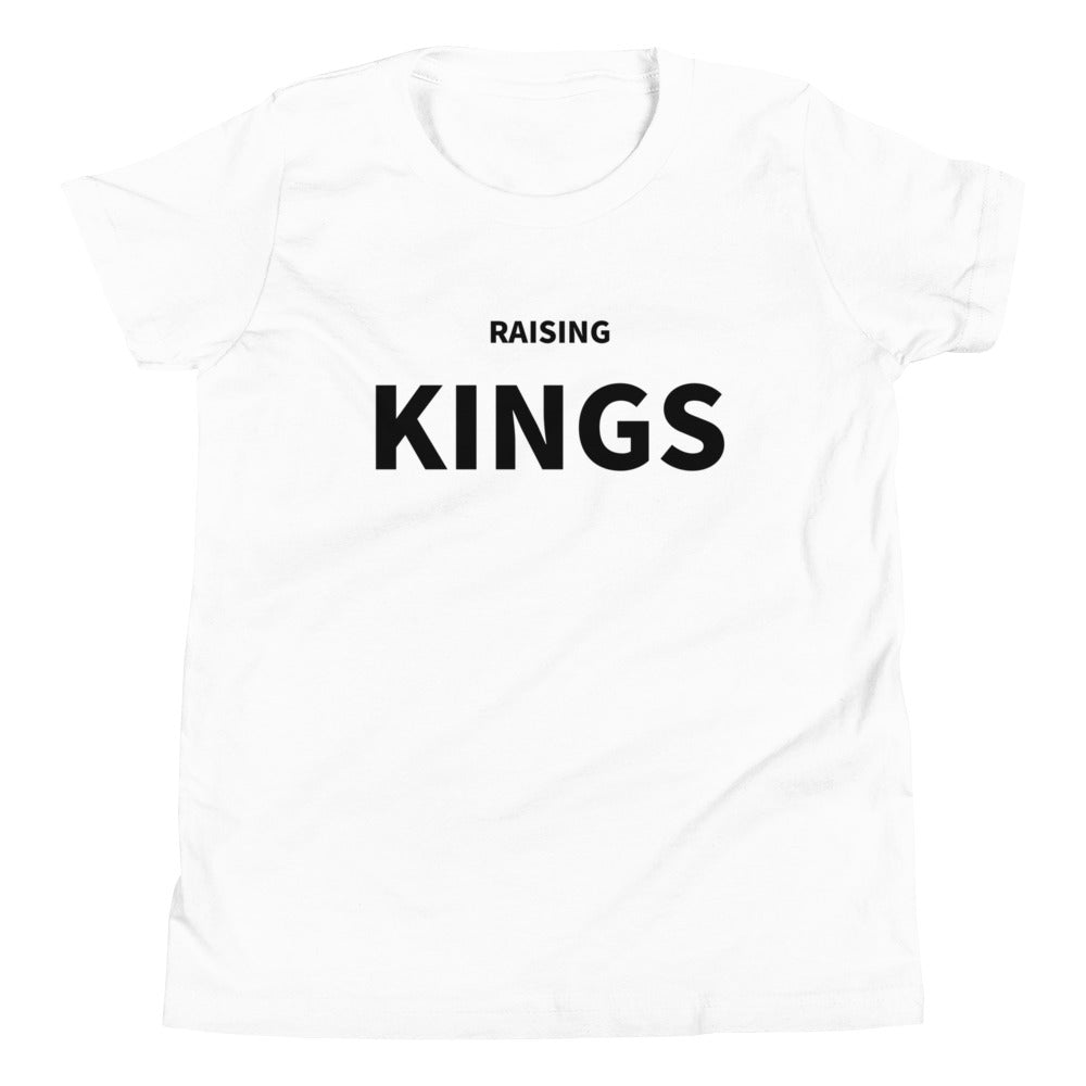 RAISING KINGS  - Youth Short Sleeve T-Shirt (White Version)