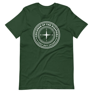 Signature Logo - Short-Sleeve Unisex T-Shirt (Forest Green)