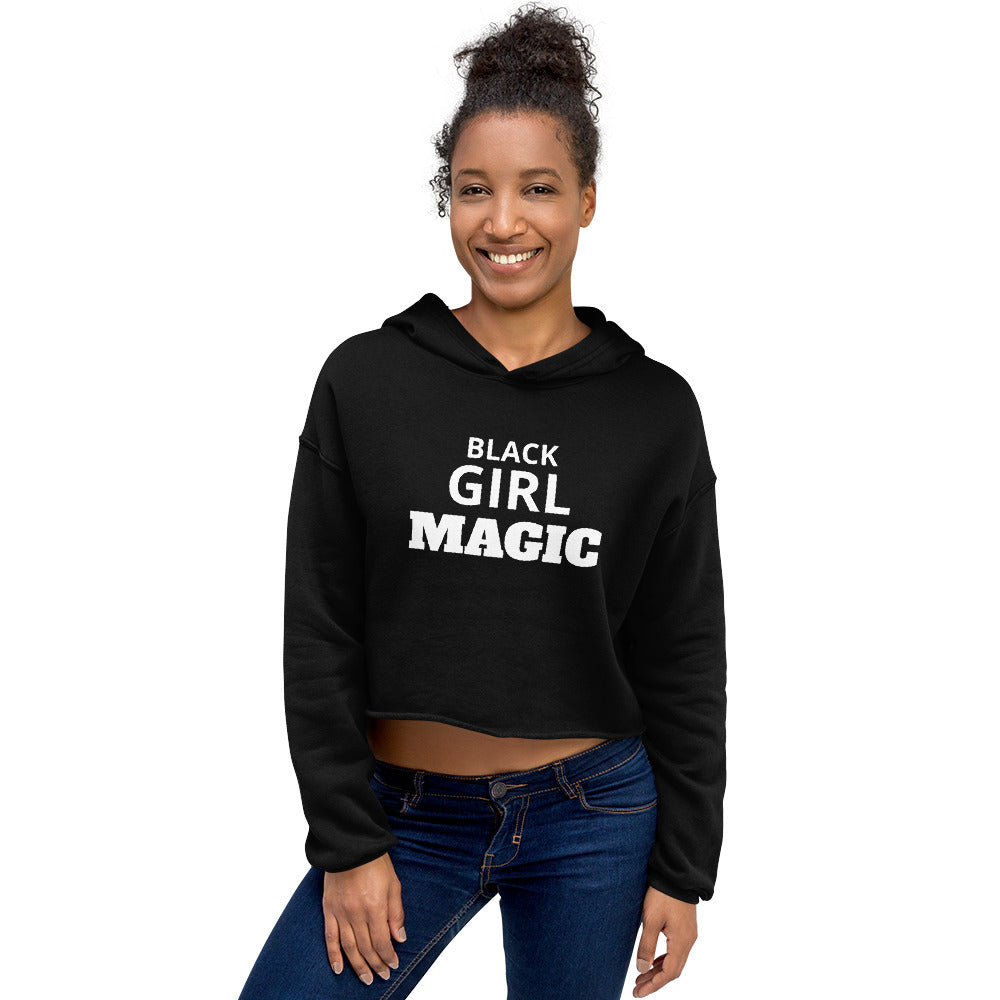 Black Girl Magic - Crop Hoodie (various colours)