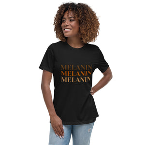 MELANIN - Women's Relaxed T-Shirt (various colours)