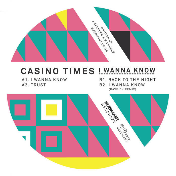 Casino Times - I Wanna Know EP