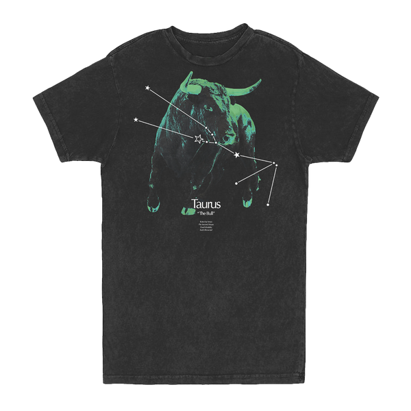 Taurus Constellation Vintage Tee