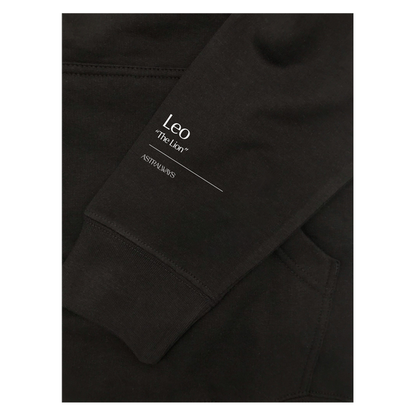 Leo Embroidered Hoodie