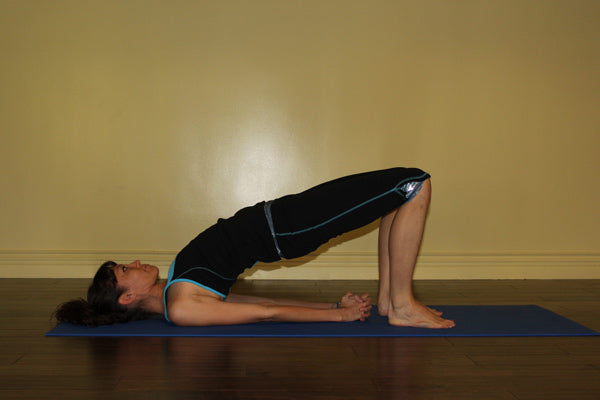 Yoga Poses For Fall: Bridge Pose -- Setu Bandha Sarvangasana