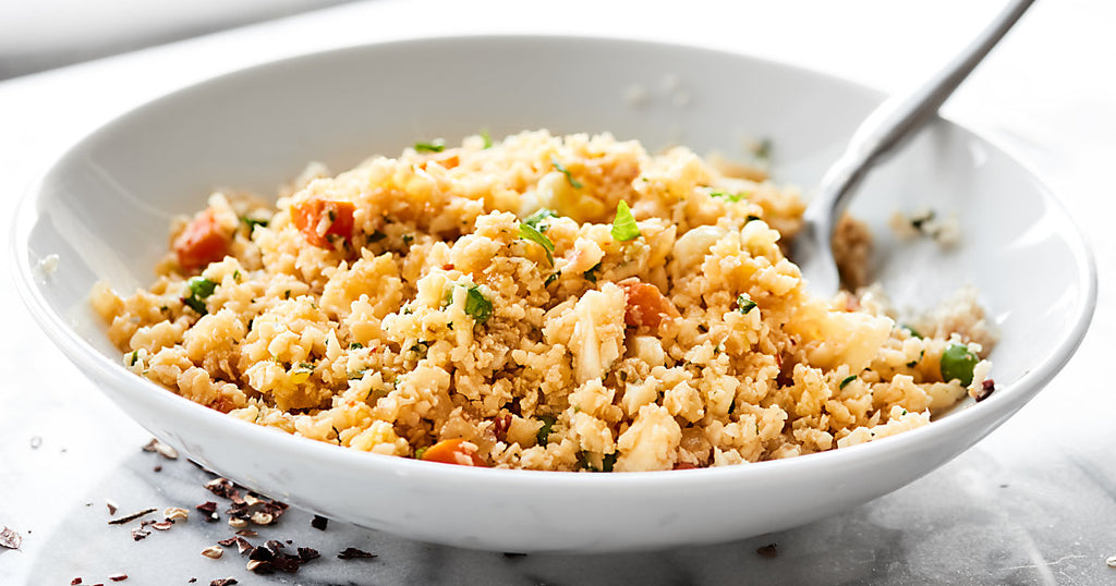 Alkaline Cauliflower Fried Rice