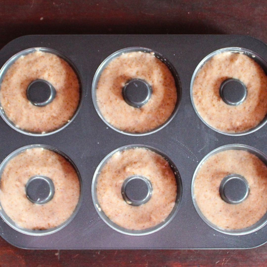Alkaline Donuts in Pan