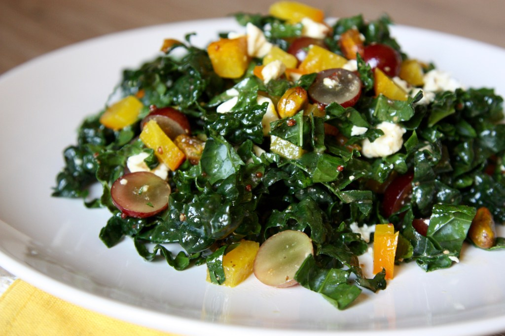 Kale and Golden Beet Salad