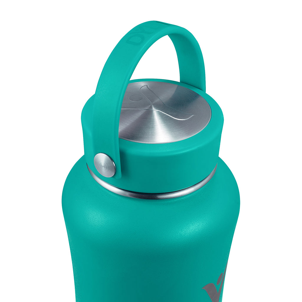 40 oz Insulated DYLN Bottle, color: Aqua Teal