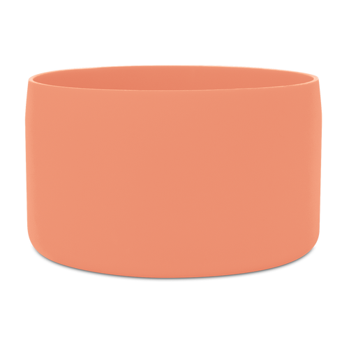 Large Silicon Bottom Guard, color:Living Coral