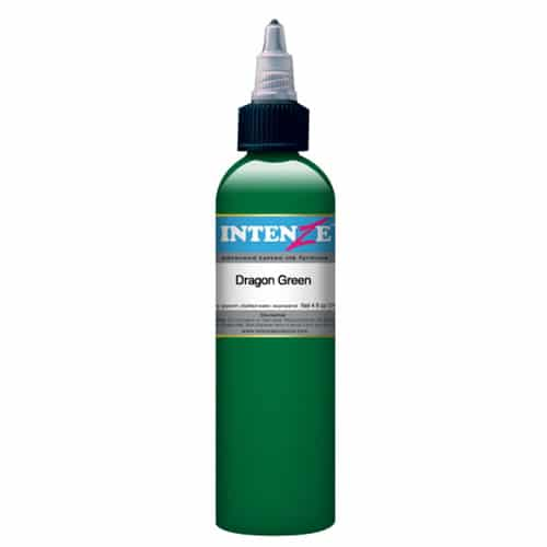 Intenze Tattoo Ink, Dragon Green