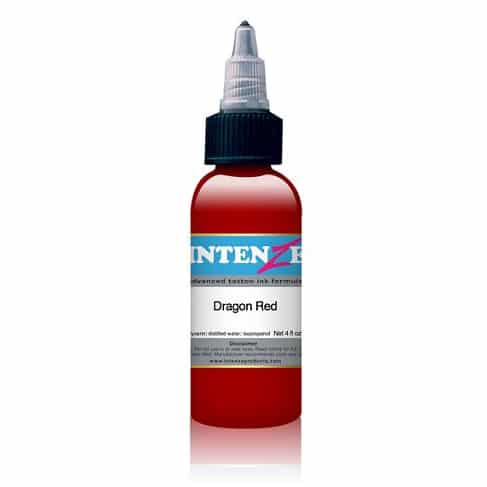Intenze Tattoo Ink, Dragon Red