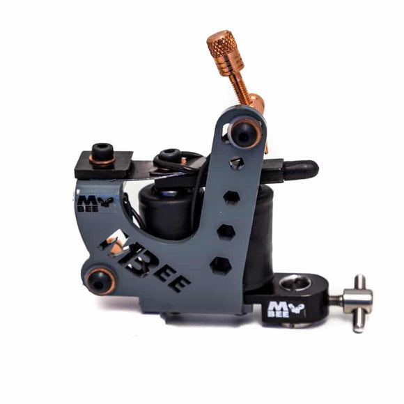 MICKY BEE TATTOO MACHINE, GUNMETAL STING, LINER