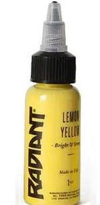 Tattoo Ink: Radiant Colors Lemon Yellow