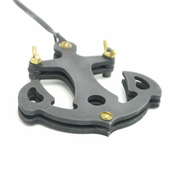HAND MADE IRON ANCHOR TATTOO FOOT PEDAL